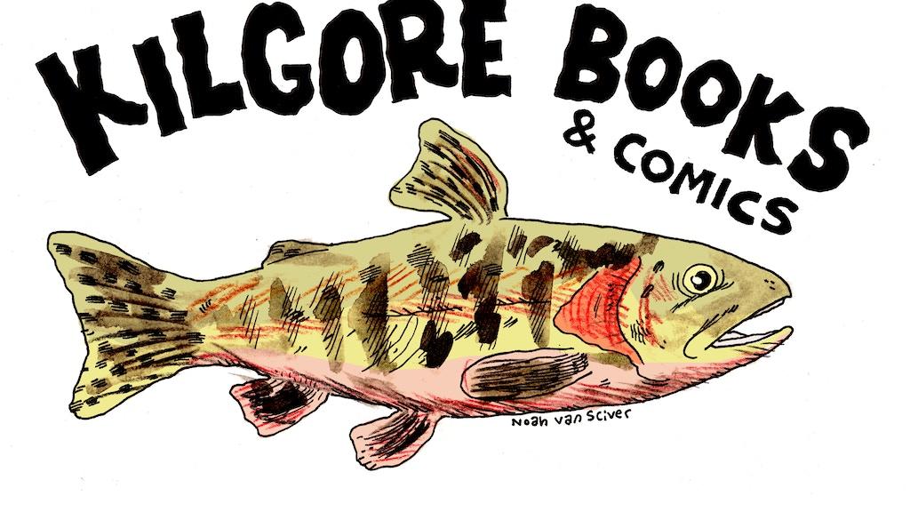 Kilgore Books & Comics 2017 Spring Line project video thumbnail
