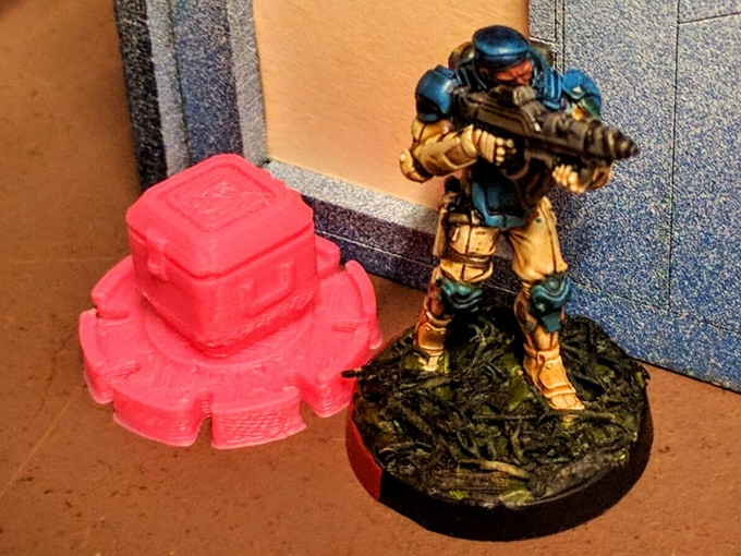 A Fusilier escapes with a datacube!