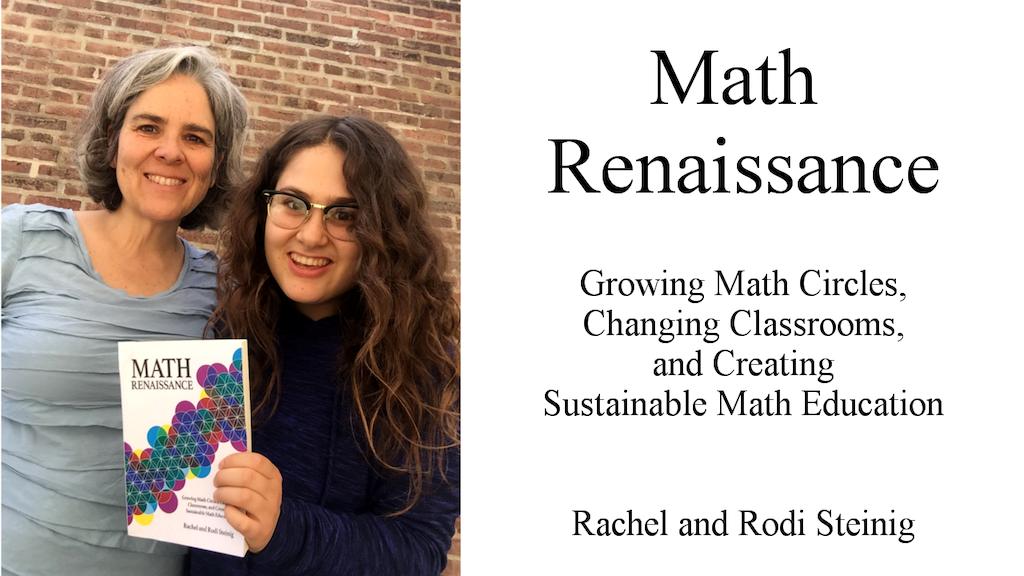 Math Renaissance: A Book for Parents and Teachers project video thumbnail