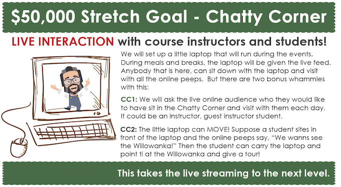 permaculture design course stream - chatty corner