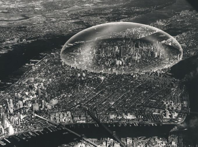 Buckminster Fuller – Dome Over Manhattan (1961)