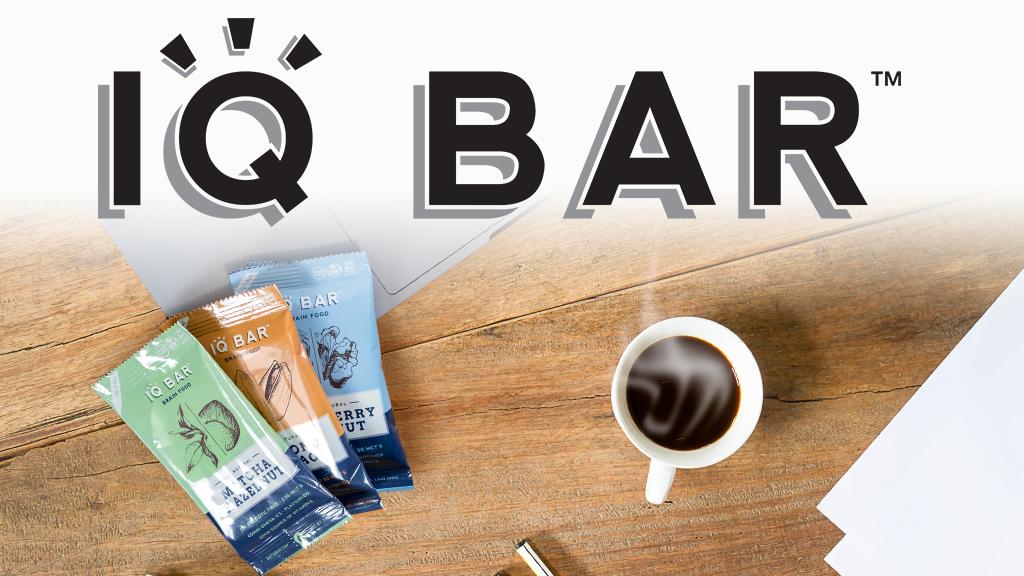 IQ BAR: Delicious Brain Food To Go!