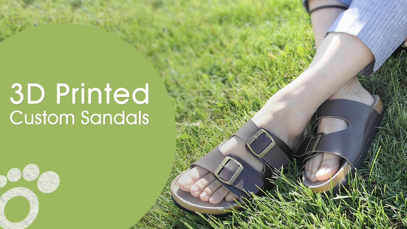 dab7887b612c Join The Footwear Revolution - 3D Printed Custom Sandals. World s first  custom sandals with mass customization ...