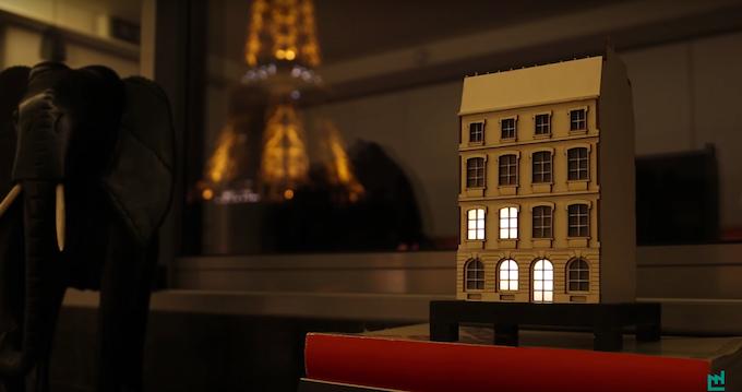 The City Clock - Paris design