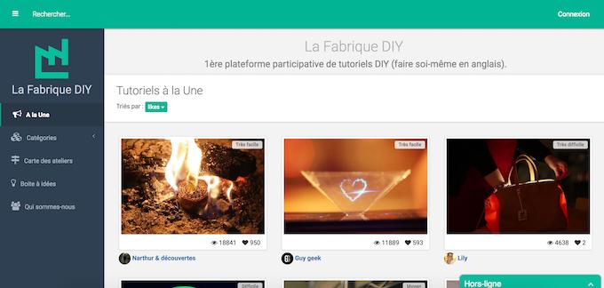 La Fabrique DIY Website