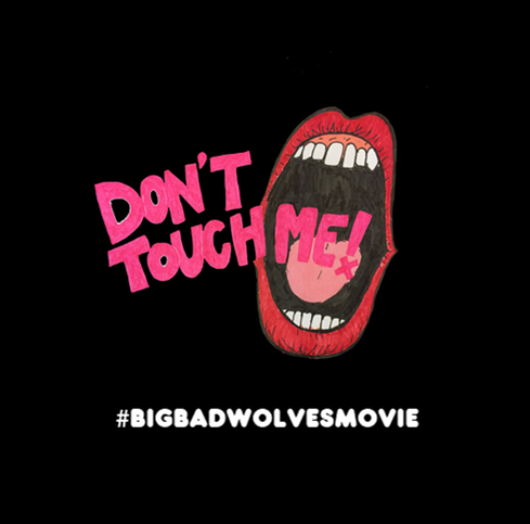 Official Big Bad Wolves sticker