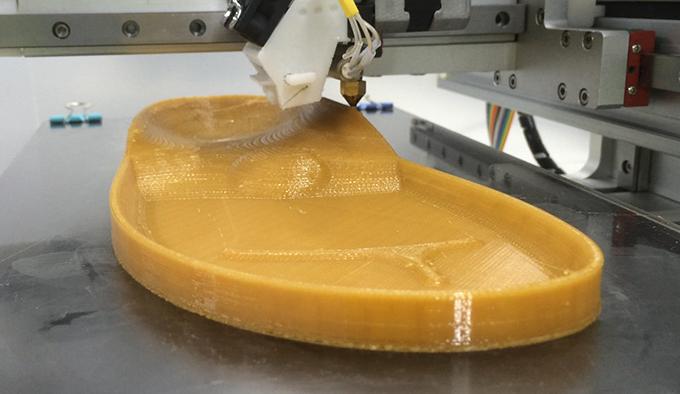 3D printed full-length midsole