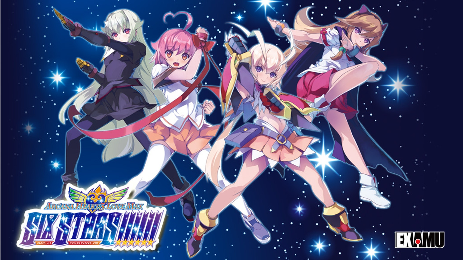 The unique 2D fighting game action of the Arcana Heart series continues with this latest edition English port to PC.