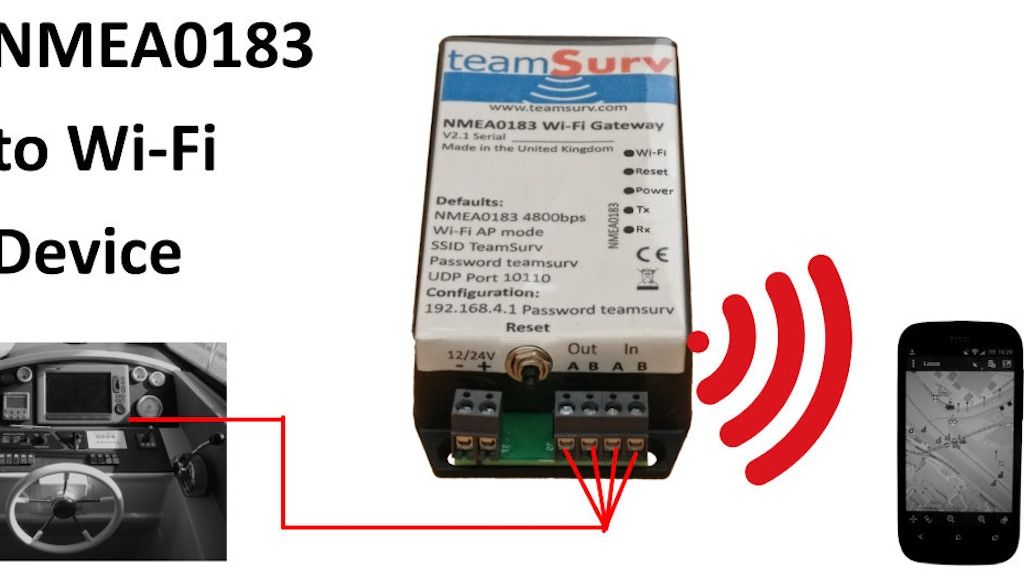 NMEA0183 Wi-Fi Device project video thumbnail