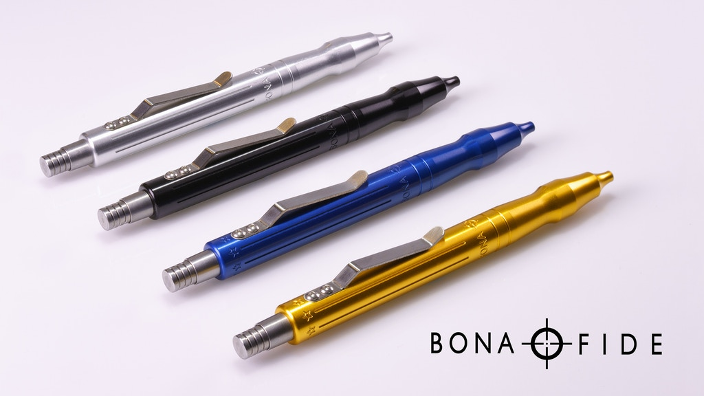 The Bona Fide Machined Pen project video thumbnail
