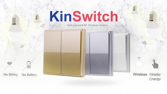 KinSwitch - The Kinetic Self-Powered Wireless RF Switch