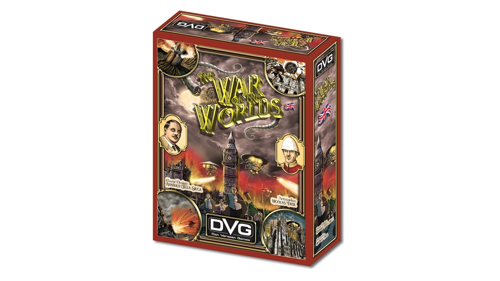The War of the Worlds - Board Game project video thumbnail