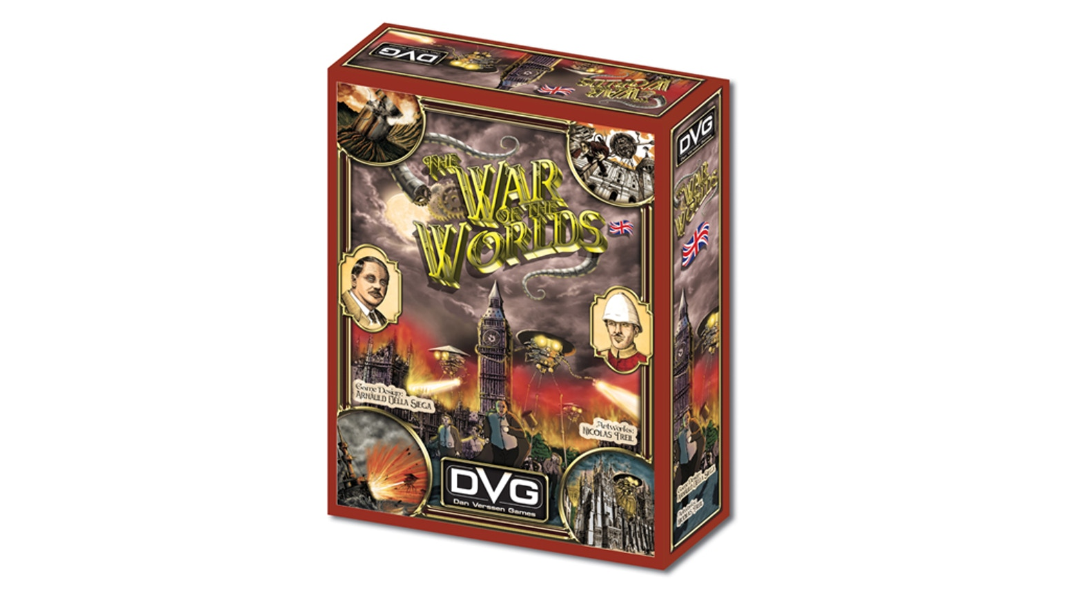 The War of the Worlds - Board Game by Dan Verssen Games