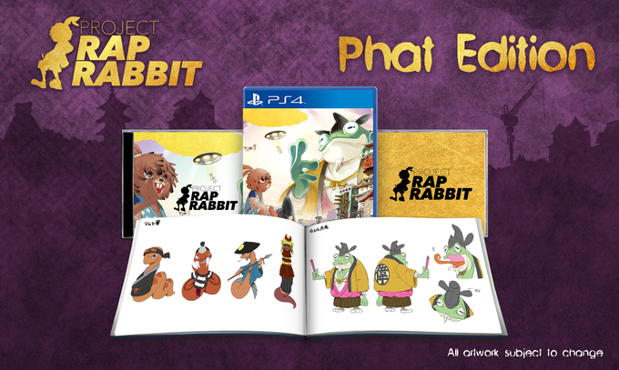 Includes: one copy of Project Rap Rabbit, artbook, soundtrack CD, remixed soundtrack CD