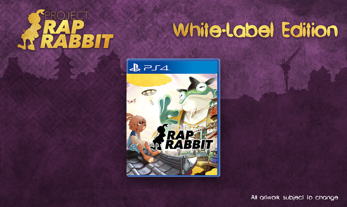 Includes: one copy of Project Rap Rabbit with backer-exclusive cover art