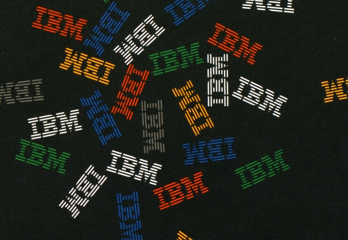 IBM Graphic Standards Manual by Paul Rand
