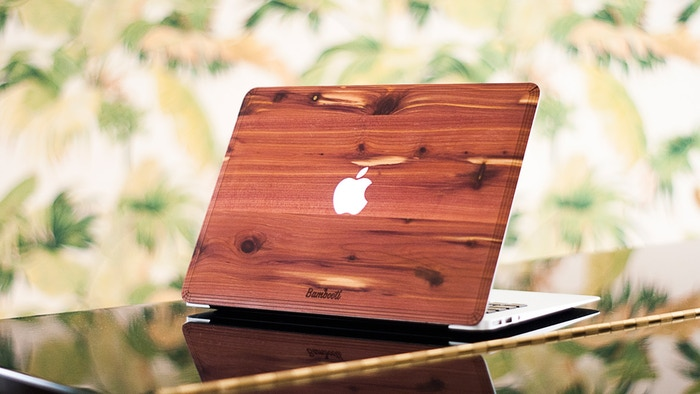 Crafted using the finest woods available, Bambooti guarantees to transform your mac into a work of art!