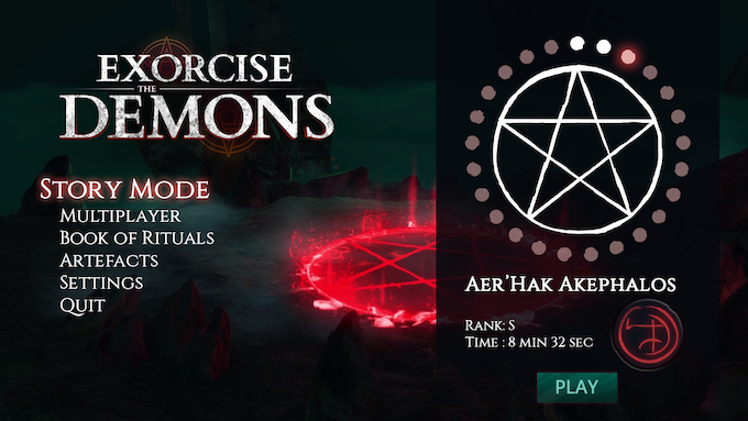 Exorcise the demons dark fantasy cooperation game by midnight we have tailored the game for you to get the best experience of it by playing with your friends but a solo mode will also be available in which case there solutioingenieria Images