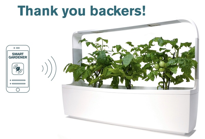 An elegant design piece - the first truly connected and affordable kitchen garden. T-series turns everyone into a gardener.