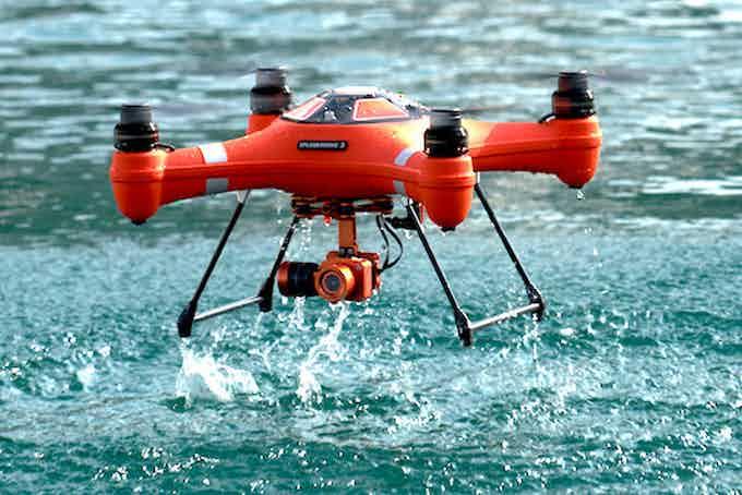 Splash Drone 3 AUTO with 4K Camera Gimbal