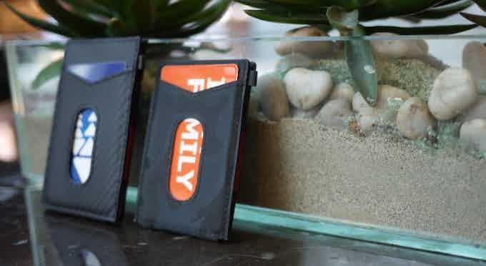 X-Flex mini is 15% smaller then X-Flex wallet