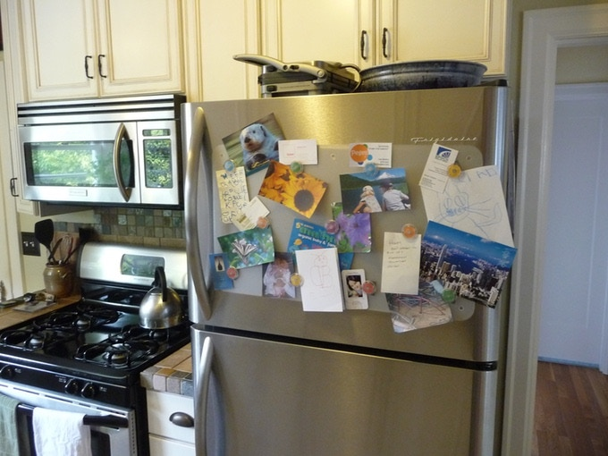 On A Stainless Steel Refrigerator Hold Up To 44 Items