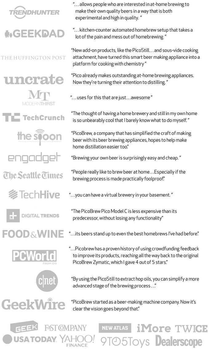 Pico c craft brewing for all by picobrew inc kickstarter trend hunter geekdad the huffington post uncrate modernthirst techcrunch the spoon engadget the seattle times techhive digital trends foodwine solutioingenieria Images