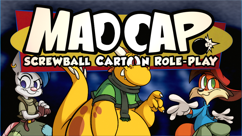 A tabletop role-playing game about cartoon mischief, madness, and mayhem, from the creators of FARFLUNG and IRONCLAW.