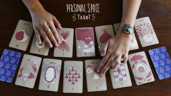 Personal Space Tarot Deck: 2nd Edition Printing