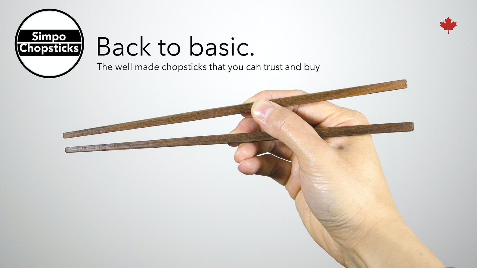 Affordable high quality hardwood chopsticks (made in Canada)