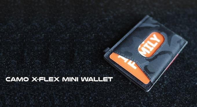 CAMO Nylon X-Flex mini slim wallet