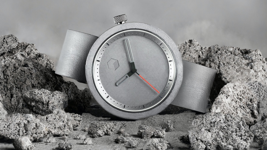 The Masonic: A Uniquely Designed CONCRETE WATCH. project video thumbnail