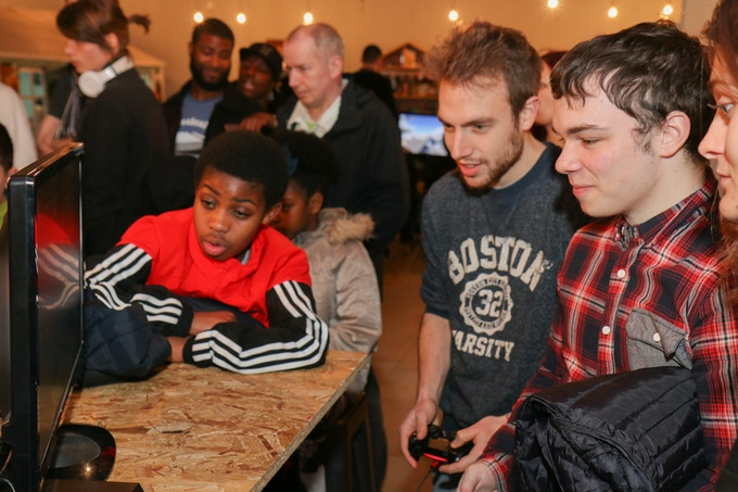 Gamers at mayamada GamePad
