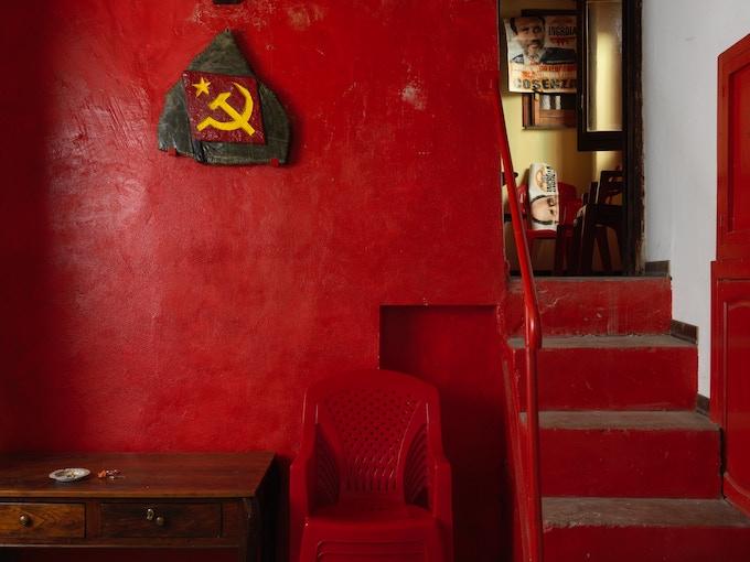 Circolo Che Guevara, of the PRC (Partito Rifondazione Comunista) in Verbicaro (Cosenza), Italy.