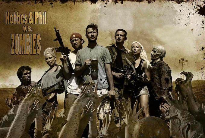 Hobbes & Phil vs Zombies