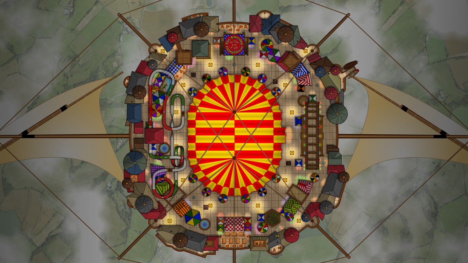 Centered on a flying circus, this mega-adventure and mini-setting can also be run in any game world, with RPG rules of your choice.