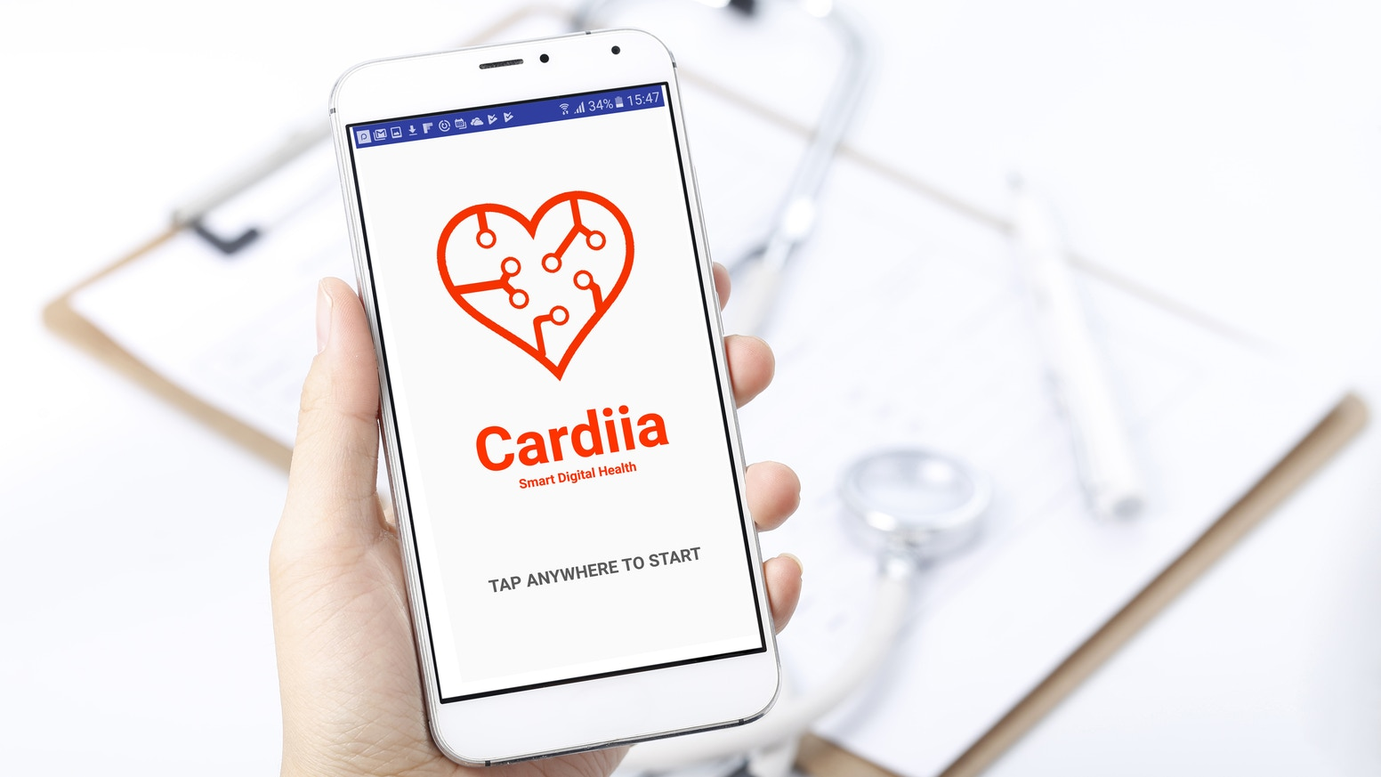 Detecting cardiac diseases with a simple smartphone, without the need for external sensors or devices.