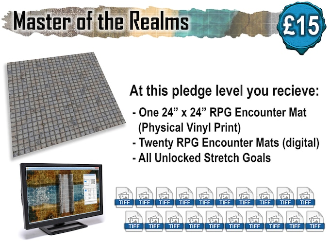 BattleMats: RPG Encounter Mats for Table Top Roleplaying by