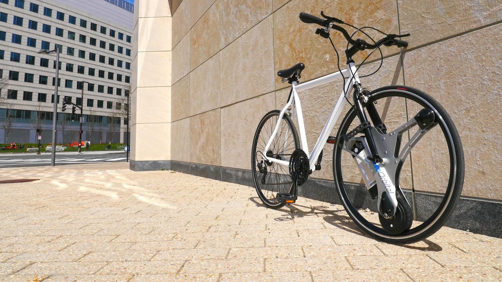 GeoOrbital Wheel   Make your bike electric in 60 seconds