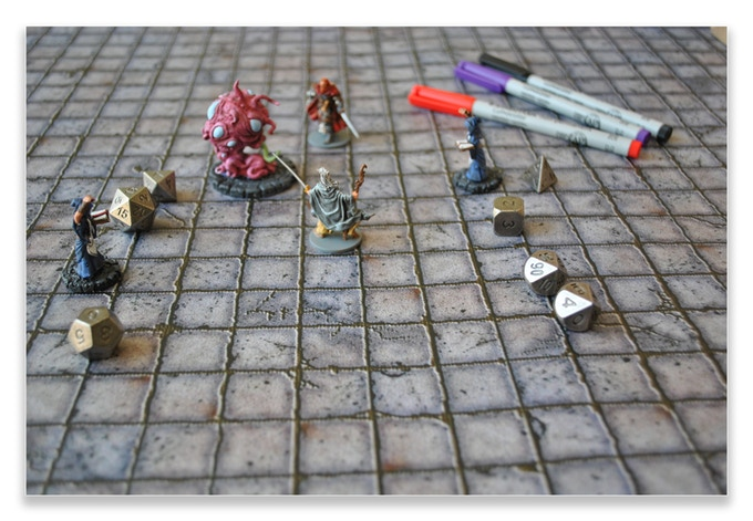 Battlemats Rpg Encounter Mats For Table Top Roleplaying