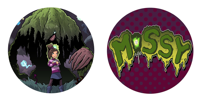 Mossy stickers by Traci Shepard