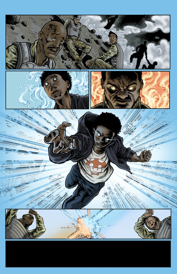 Colorist Ann Siri Obrien's awesome work from Route 3 #1