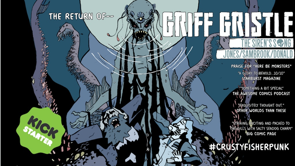 Griff Gristle: The Siren's Song project video thumbnail