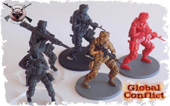 miniature modern wargame