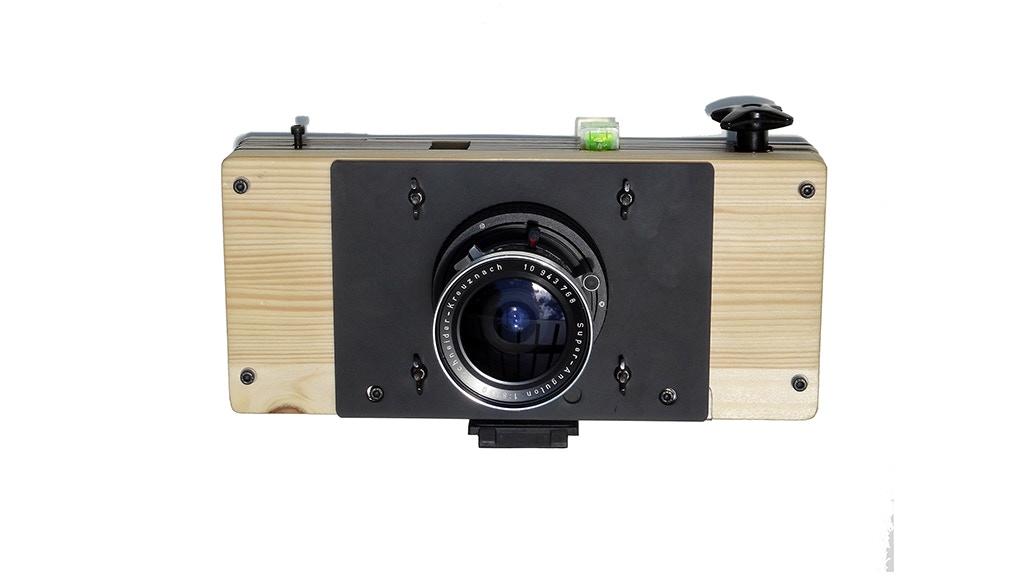DIY Medium Format Hybrid Camera, Probably, 1st in the ...