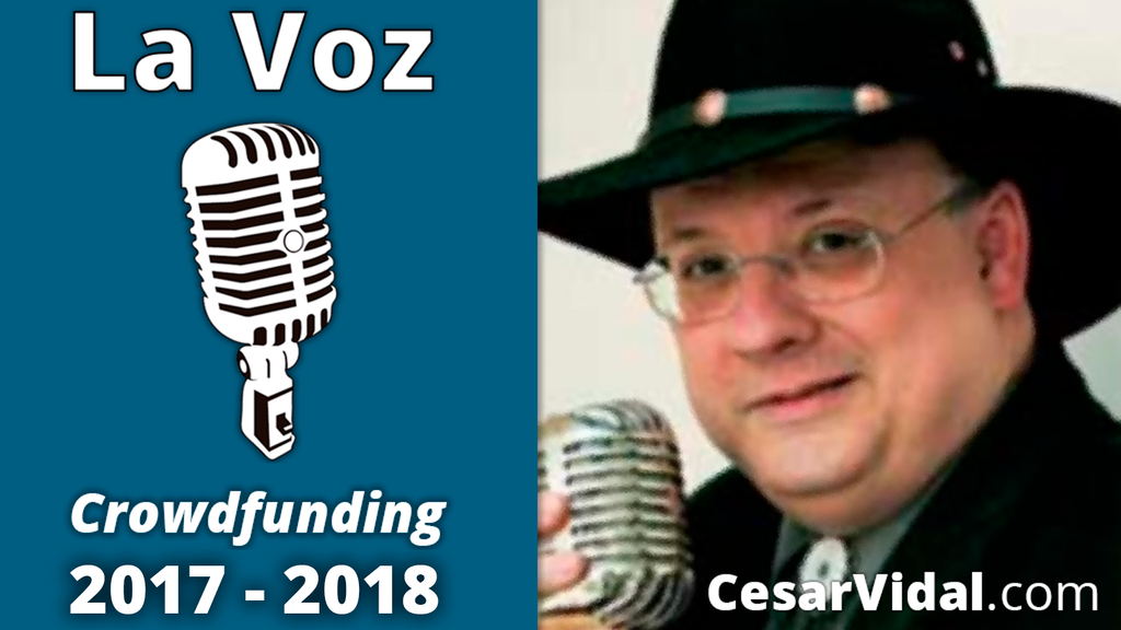 LA VOZ de César Vidal - 2017 / 2018 - cesarvidal.com project video thumbnail
