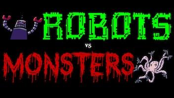 Robots vs Monsters - Six-Song EP on Green Vinyl