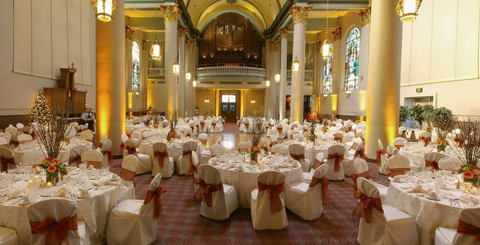 The Grand Hall at the Priory
