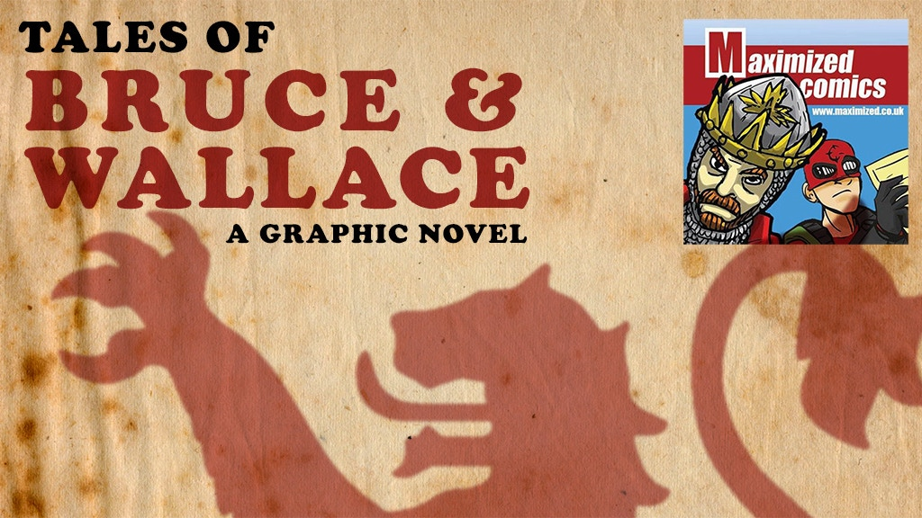 Tales of Bruce and Wallace: A Graphic Novel project video thumbnail