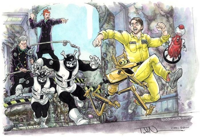 Fan art by Todd Nauck